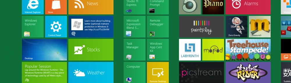 Windows 8 developer preview – wrażenie z użytkowania